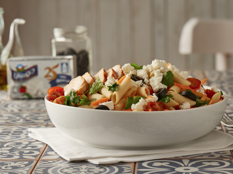 Chicken Salad with Feta Plus Cheese